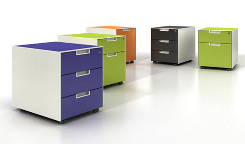 Colorful Decorative File Cabinets