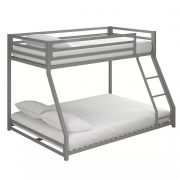 Twin-full metal bunk bed-bon furniture (10)