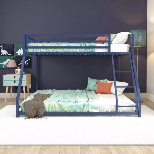 Twin-full metal bunk bed-bon furniture (16)