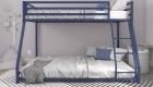 Twin-full metal bunk bed-bon furniture (2)