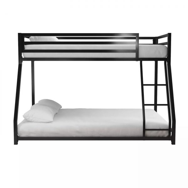 Twin-full metal bunk bed-bon furniture (36)