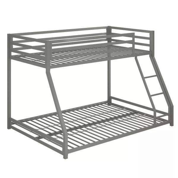 Twin-full metal bunk bed-bon furniture (37)