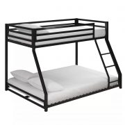 Twin-full metal bunk bed-bon furniture (5)